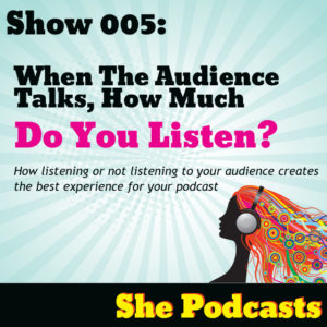 information about women who podcast