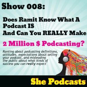 Making money podcasting