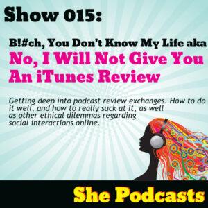 iTunes review exchanges