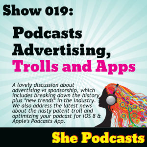 the best place to get podcasting information for women by women