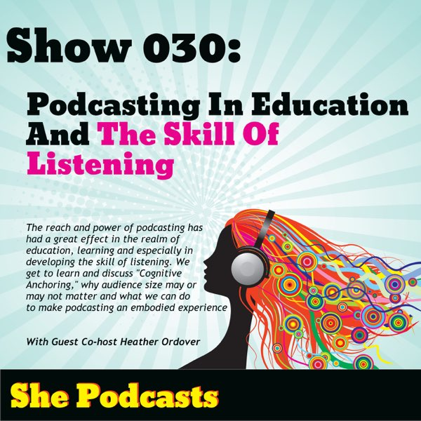 heather ordover podcasting and education