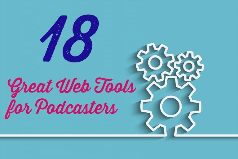 tools, podcasters