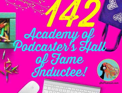 142 Podcast Hall of Fame Inductee!