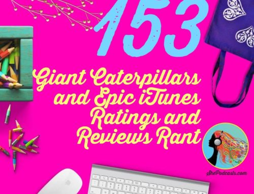 153 Giant Caterpillars and Epic iTunes Ratings and Reviews Rant
