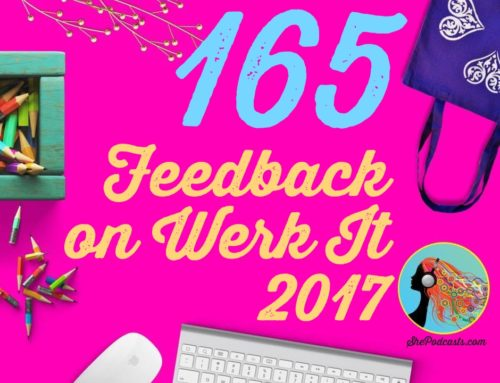 165 Feedback on Werk It 2017