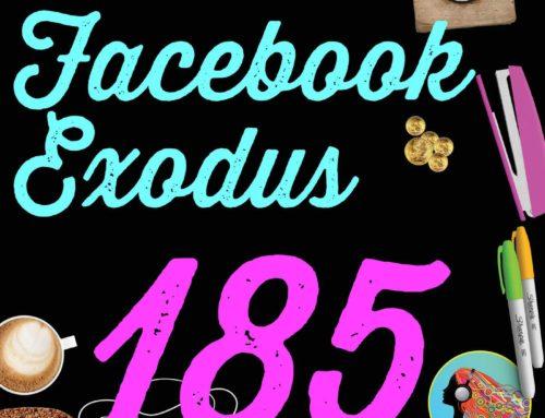 185 Facebook Exodus